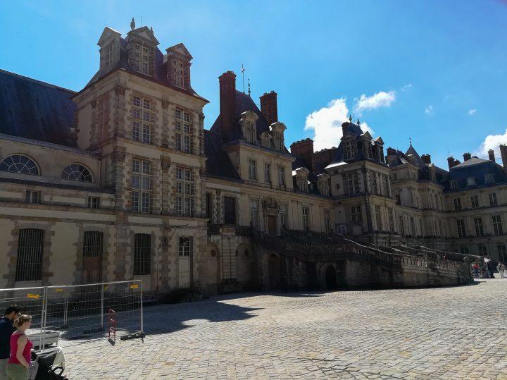 Château de Fontainebleau, extérieur ⎜ Fontainebleau Palace, outside