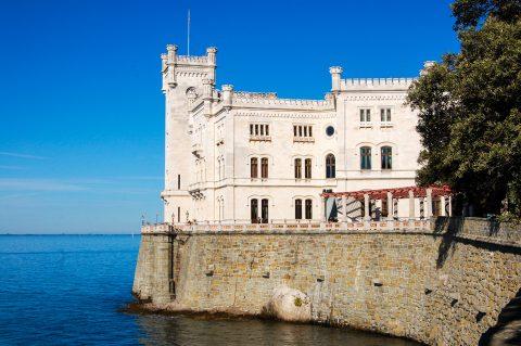 Trieste – Castello di Miramare, extérieur ⎜ outside