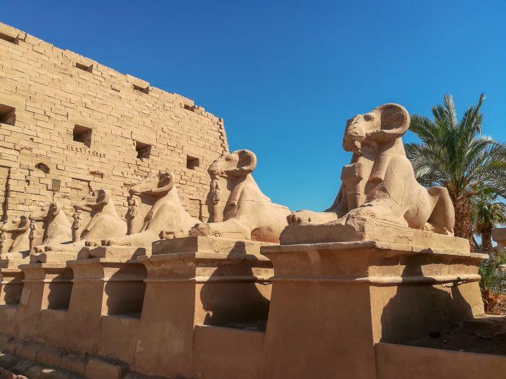 Karnak, parvis ⎜ forecourt
