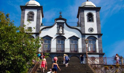 Madère ⎜ Madeira, Igreja de Nossa Senhora do Monte